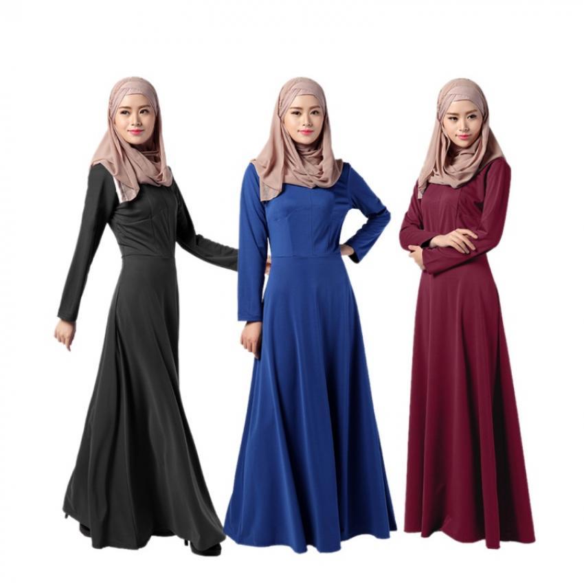 Model Baju Long Dress Untuk Muslimah Dengan Konsep Menarik yang Tampil Modis
