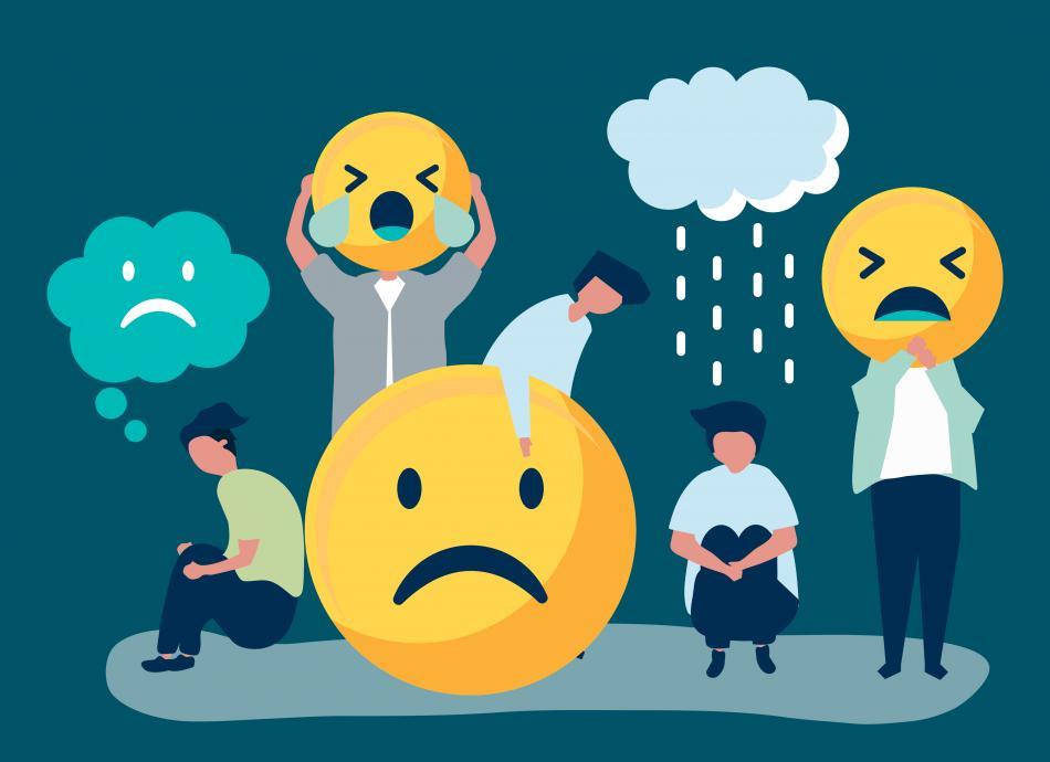 Ilustrasi kesehatan mental yang harus dijaga dengan baik (mental health awareness), freepik.com